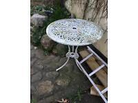 Antique garden table