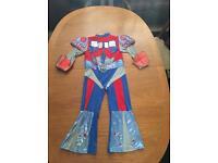 Optimus prime costume 5-6 years
