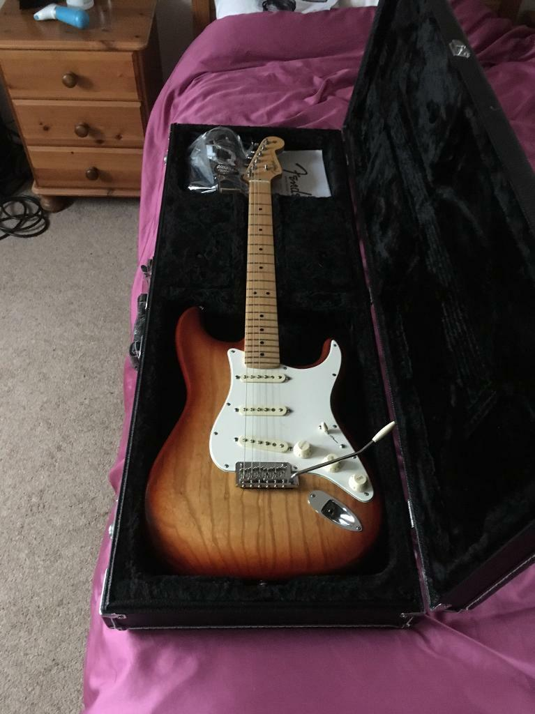 6month old Made in USA Fender Strat .