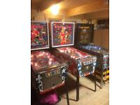 Wanted non working or faulty Pinball machines