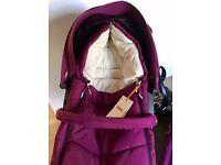 Stokke Xplory Purple Standard Single Seat Stroller