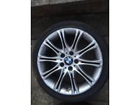GENUINE BMW E46 Alloy Wheel 8J