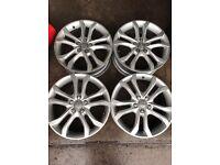 "Audi A3/S3 8P2 Genuine Alloy wheels 18"""
