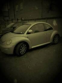 Vw beetle 2.0L manual