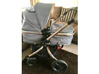Mothercare Orb pram/pushchair and car seat