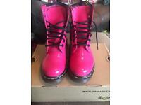Women's pink Dr Martens size 5
