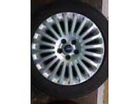 "Ford Focus titanium 16"" Alloy wheels"