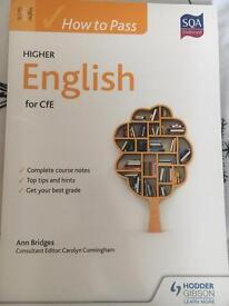 Higher English for Cfe