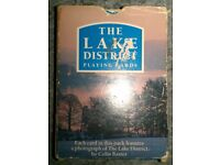Pack Of Vintage 'Lake District' Picture Playing Cards (boxed)
