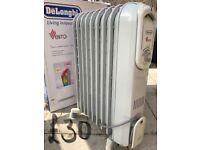 DeLonghi Oil filled portable radiator