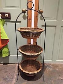 3 tier veg rack