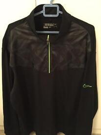 Nike golf zipper