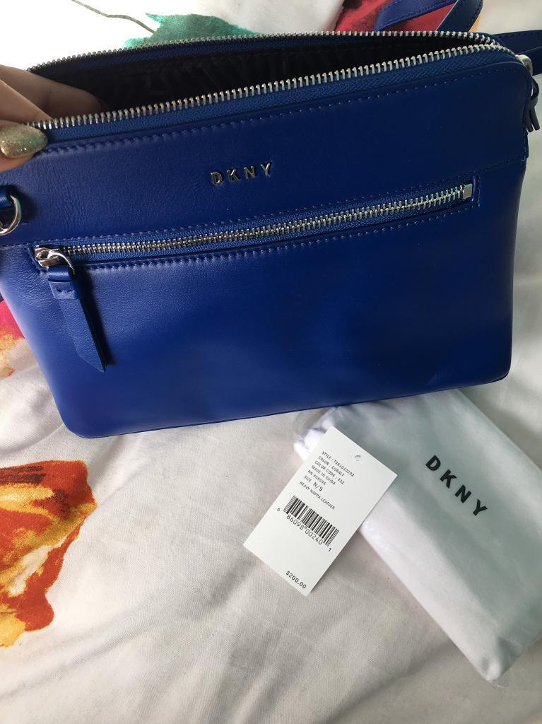 Dkny bagin Wallsend, Tyne and WearGumtree - Blue dkny bag beautiful brand new with tags comes with dustbag and giftbagOpen to offers