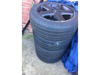 Audi alloys and tyres
