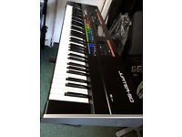 Roland's Jupiter-50 synthesizer / Piano / Keyboard.....76 notes ,Plus Deluxe Hard Case