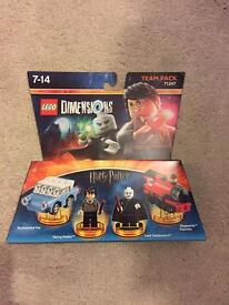 Brand new sealed Lego Dimensions Harry Potter team pack