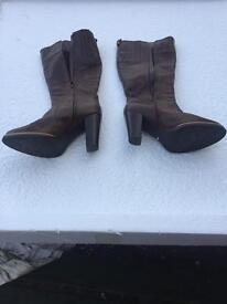 3 Pairs of Ladies designer boots size 6