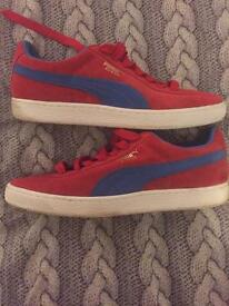 Puma Suede trainers size 9