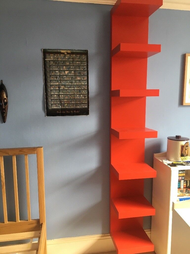 Ikea Wandrek Lack.Ikea Red Lack Shelves Best Interior Furniture