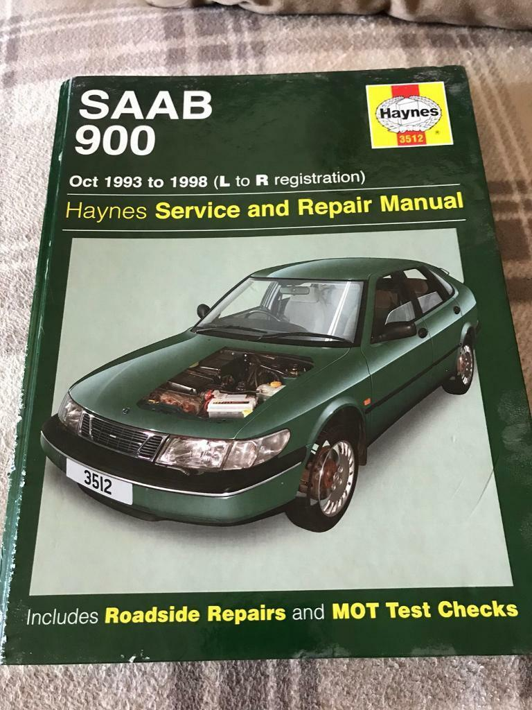saab 900 93 98 haynes manual in pontefract west yorkshire gumtree rh  gumtree com saab 900 repair manual saab 900 workshop manual