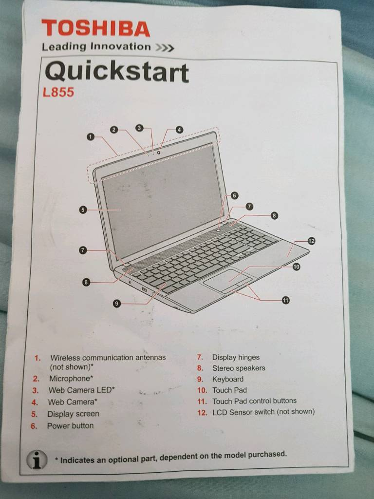 Wireless Communication Switch Toshiba Laptop Trusted Wiring Diagram Satellite C55a L855 In Coventry West Midlands Gumtree Button On