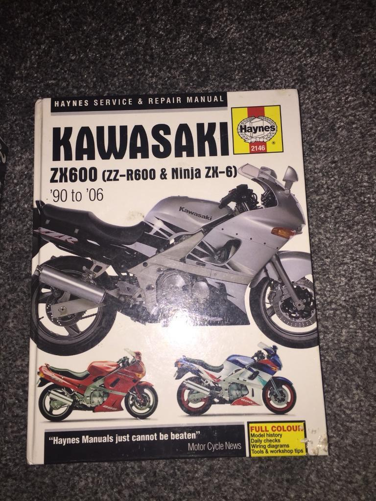 Zzr Owners Manual Kawasaki Voyager Ipod Wiring Diagram Array 600 Haynes In Northampton Rh Gumtree Com