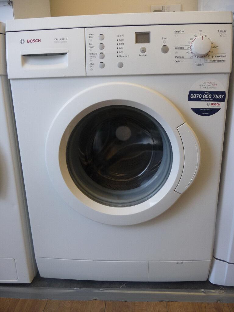 Bosch Classixx 6 1200 Express Washing Machine Manual Online User