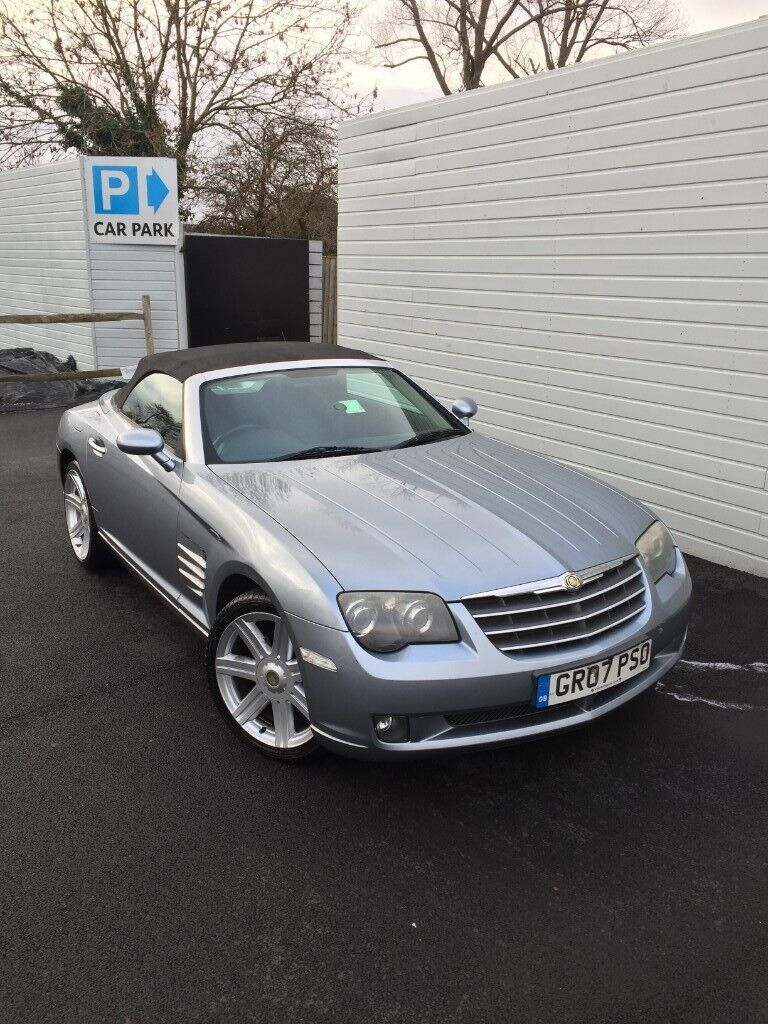chrysler crossfire workshop manual