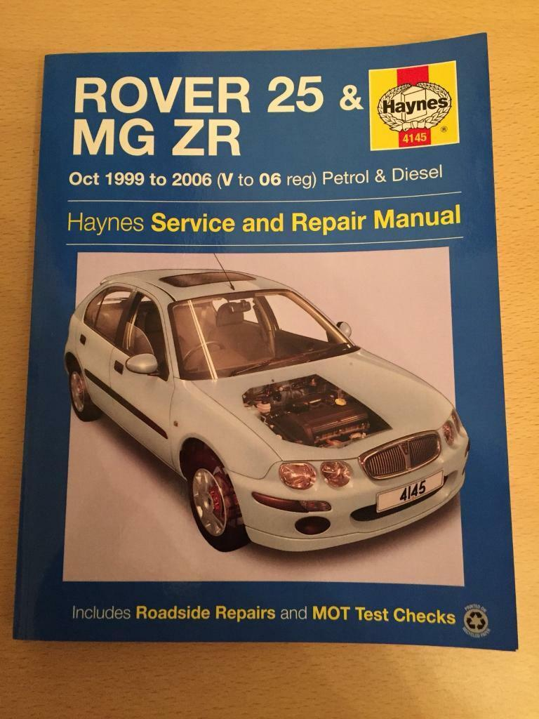 mg zr and rover 25 haynes manual in corfe mullen dorset gumtree rh gumtree  com mg zr haynes manual free download ...