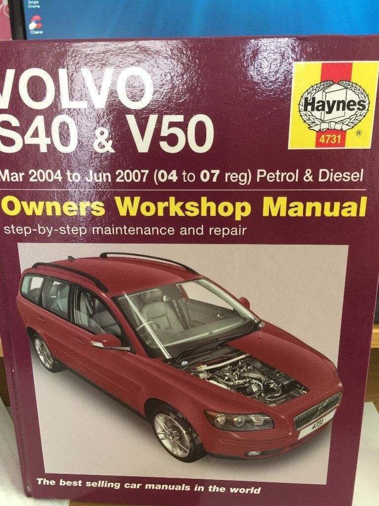 V40 Haynes Manual 1982 Ford F150 Vehicleswiring Diagram For The Ign Array Volvo V50 S40 In New Haw Surrey Gumtree Rh Com