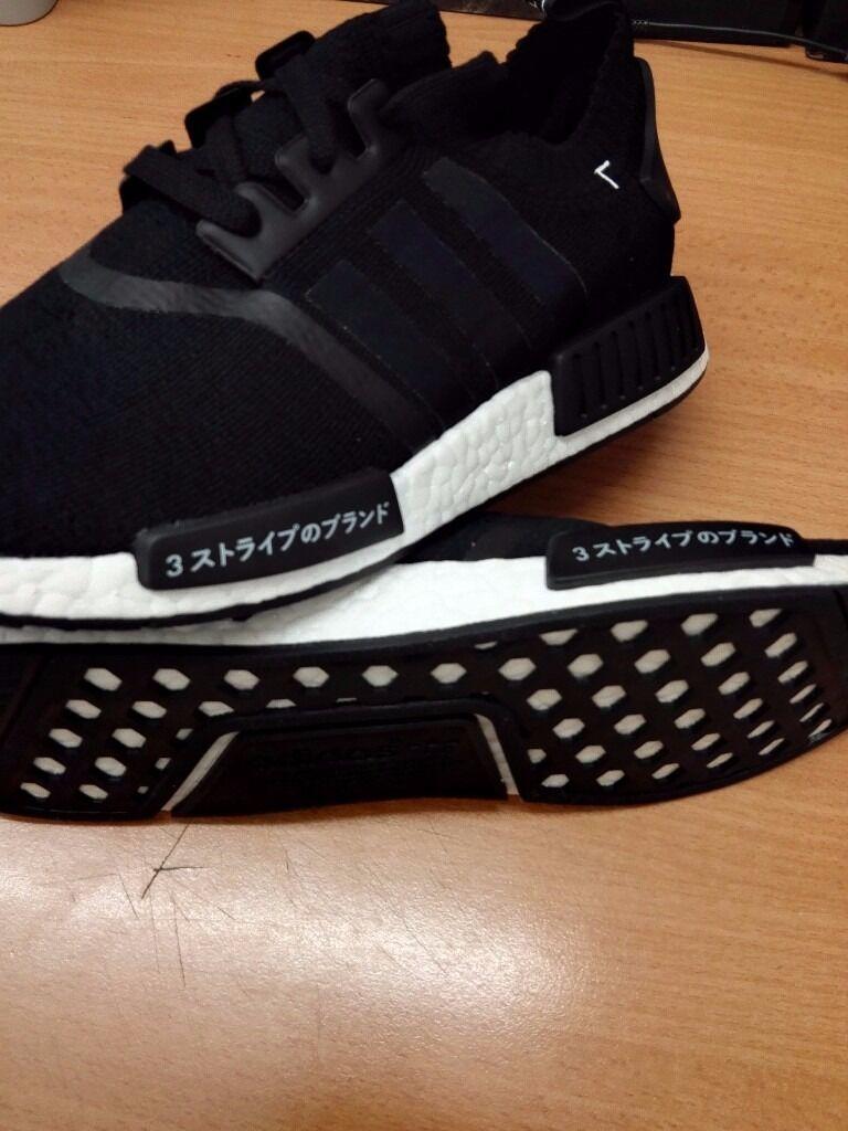 DS New Womens Adidas NMD R1 W Maroon Grey Black White S75231