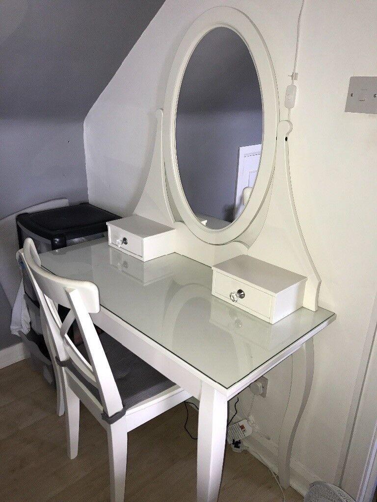 Ikea Hemnes Dressing Table Chair In Morden London Gumtree Rh Com Build