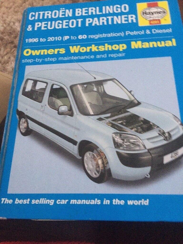 citroen berlingo multispace manual ebook