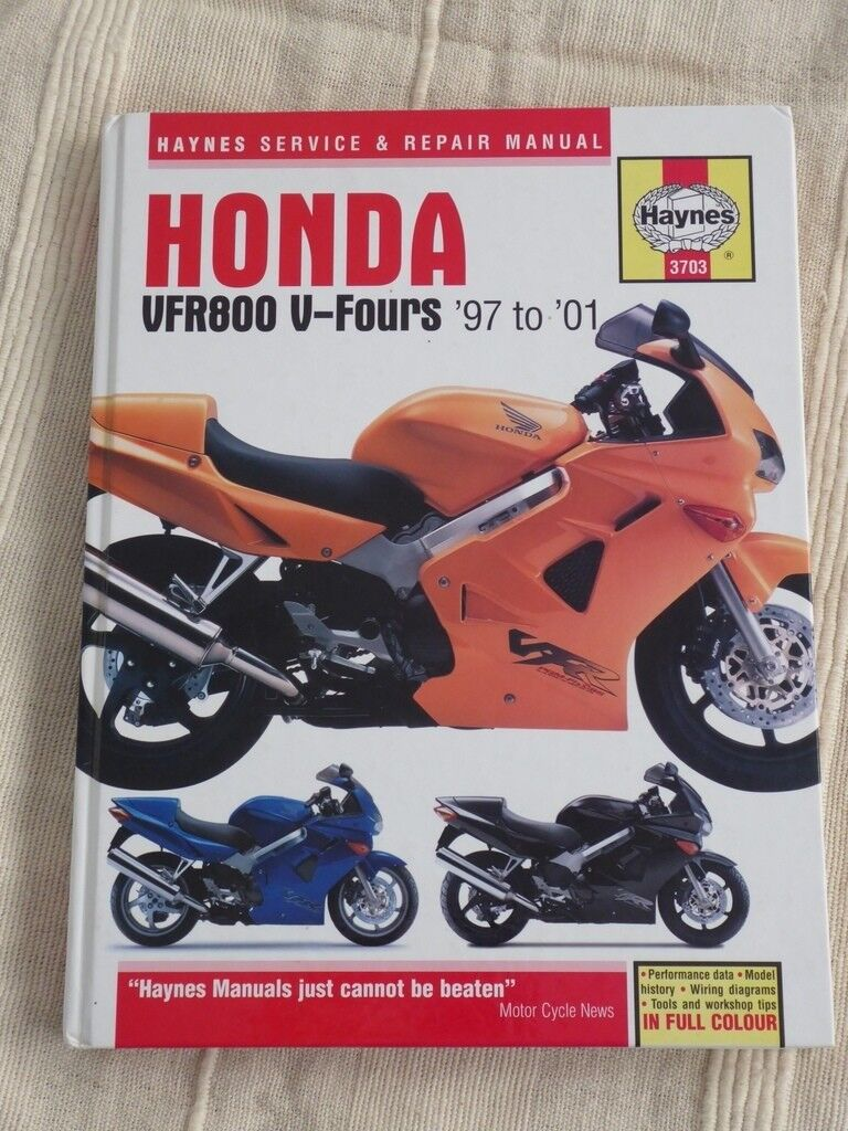 Manual Honda Vfr 800 Gilera Gp800 Injection Wiring Diagram Quick View Array Haynes Manuals Bmw F800 And Vfr800 Fi In Highworth Rh Gumtree Com