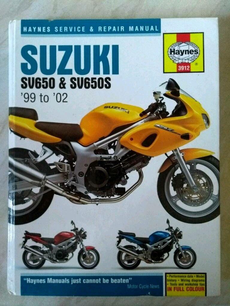 02 Suzuki Sv650s Wiring Diagram Wire Center Vz800 Sv650 Haynes Manual In Lossiemouth Moray Gumtree Rh Com Fuel Relay Marauder