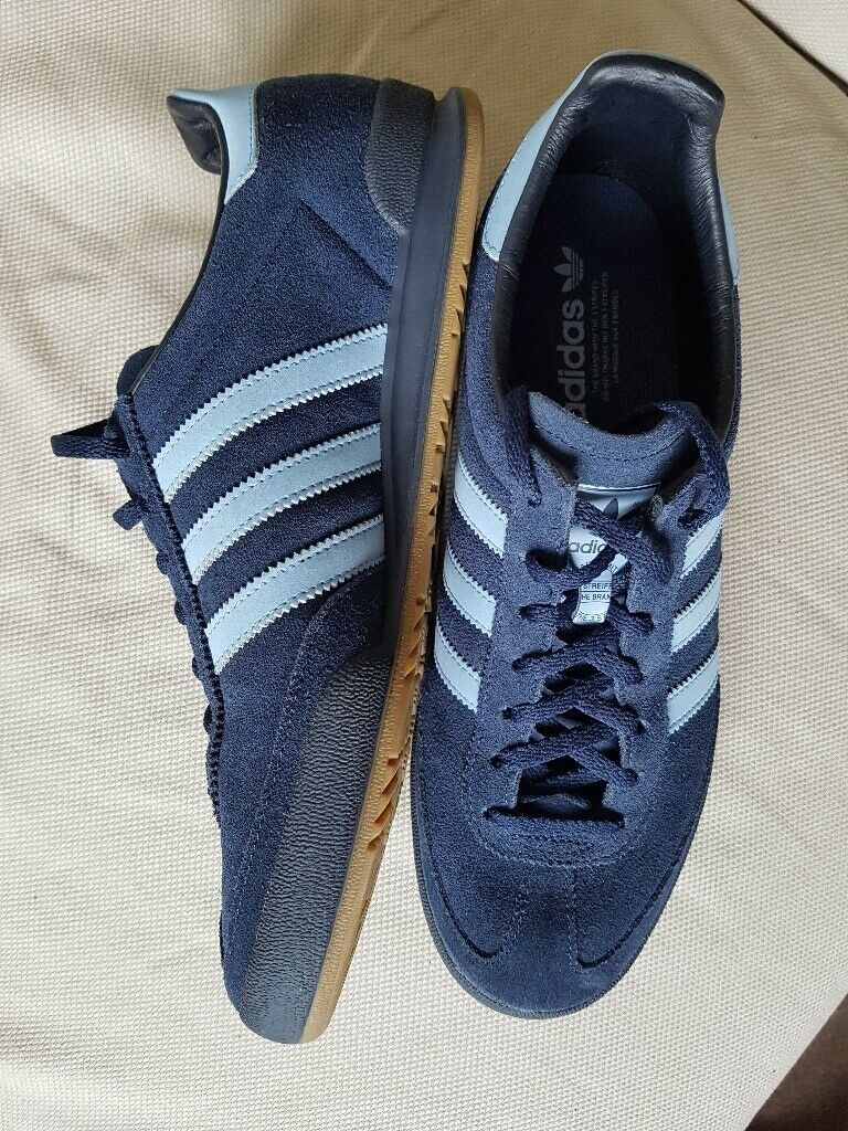 adidas jeans trainers grey size 10