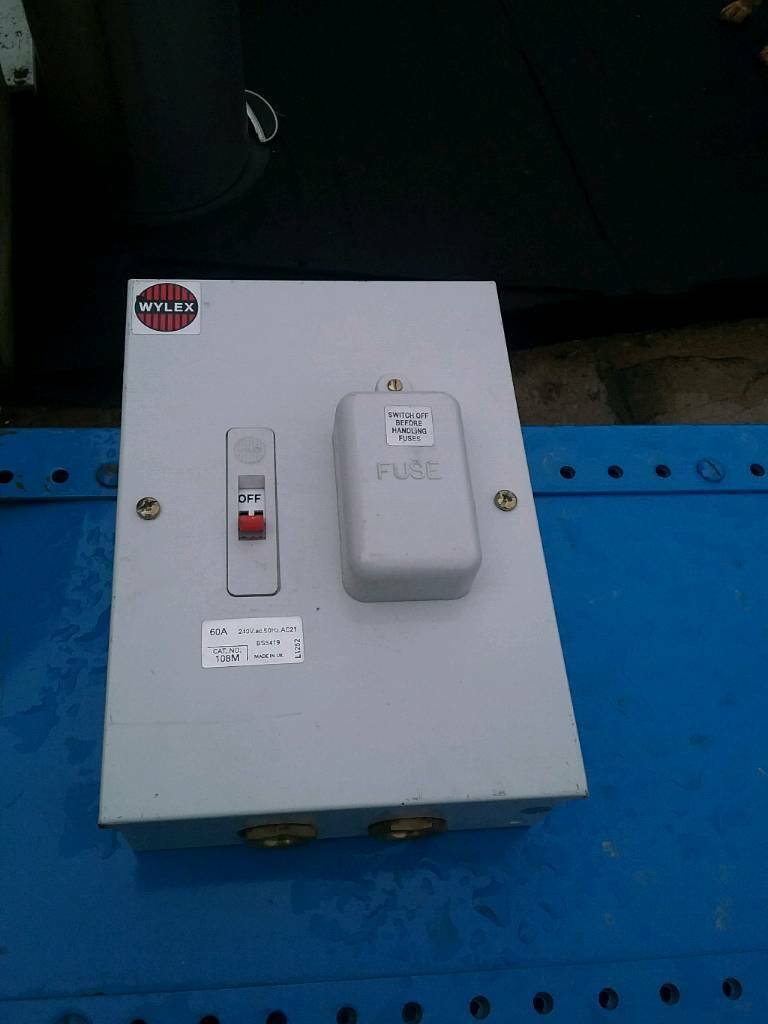 Case Fuse Box Wiring Diagrams Schematics Aprilia Shiver Wyle 60amp Metal In Ramsgate Kent Gumtree For A