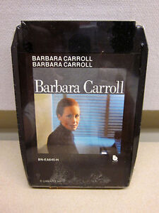 BARBARA-CARROLL-8-Track-1976-tape-NEW-self-titled-bebop-piano-jazz