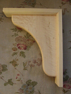 Corbels Solid Wood Bar /shelf Supports/brackets/ 9 X 11 1/2