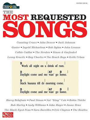 THE MOST REQUESTED SONGS 40+ EASY GUITAR SHEET MUSIC SONG BOOK on Rummage