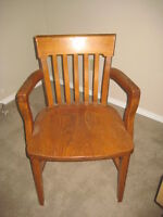Oak Captain Chair