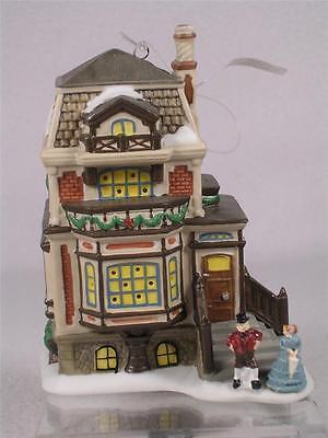 Dept 56 North Pole 'Fred Holiwell's House, Mini' #4021328 Ornament or Shelf-NIB