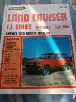 LAND CRUISER FJ SERIES PETROL 1975 TO 1984 SERVICE REPAIR MANUAL North Richmond Hawkesbury Area Preview