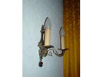 Lampe, in Kerzenleuchter-Optik, ANTIK Nordrhein-Westfalen - Heek Vorschau