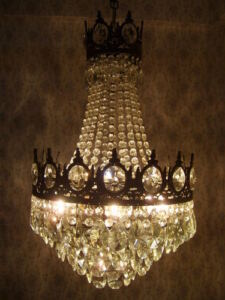 Antique-french-basket-chandelier-lamp-1940s-luster-lustre-lampe-lighting