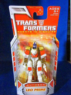 Transformers Robots In Disguise Autobot Leo Prime