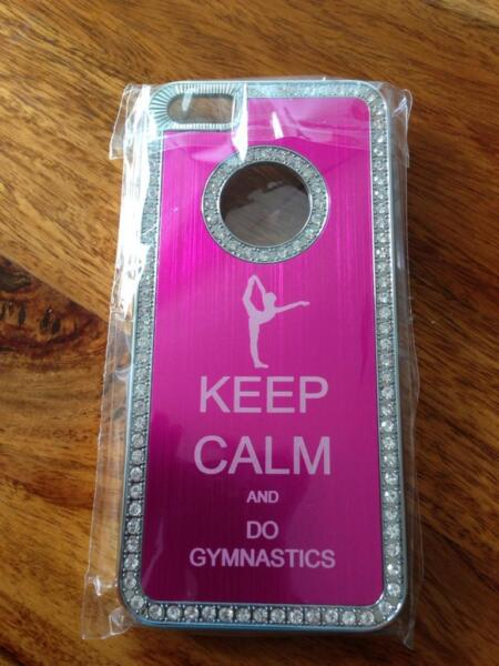 iphone 5 case keep calm and do gymnastics in eimsb ttel hamburg lokstedt apple iphone. Black Bedroom Furniture Sets. Home Design Ideas