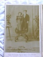 Cabinet Cards of Mr and Mrs Tom Thumb (2 on choice)