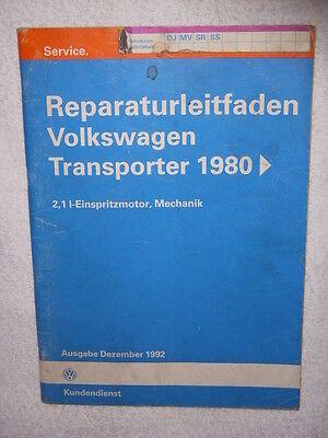VW T3+Syncro+Joker Reparaturanleitung 2,1 Motor Mechanik+Einspritzung+Schaltplan