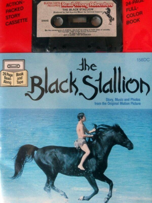 BLACK STALLION Farley 158DC Buena Vista Read Along Book Cassette Tape Set SEALED